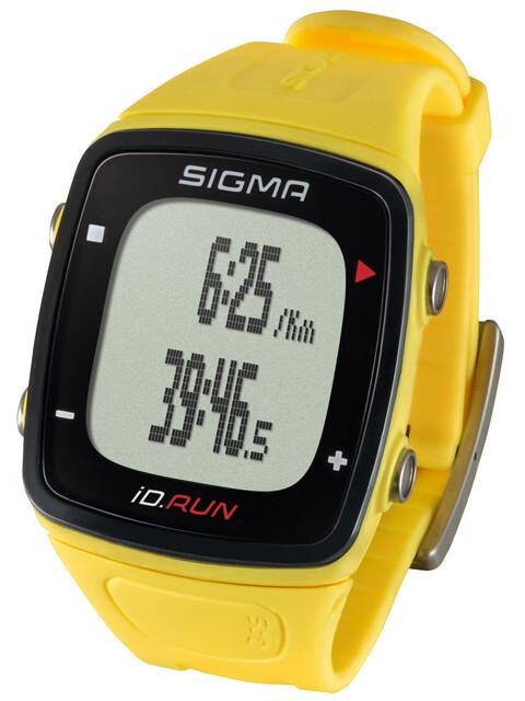 SIGMA SPORT ID.Run Sportuhr gelb
